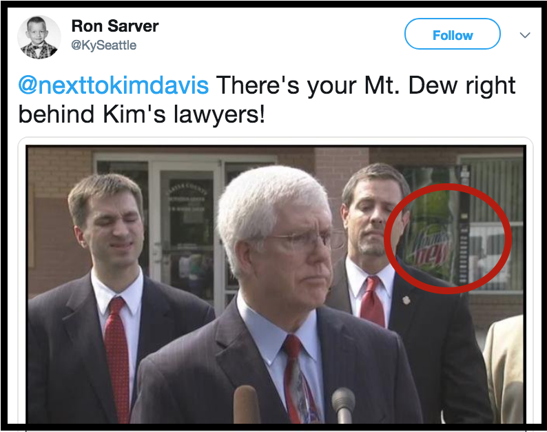 @nexttokimdavis Mt Dew and Kim's Lawyers