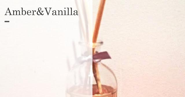 Amber en Vanilla - Action - geurstokjes