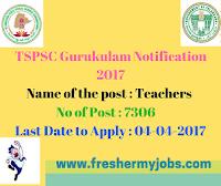 Telangana Gurukulam Teachers jobs