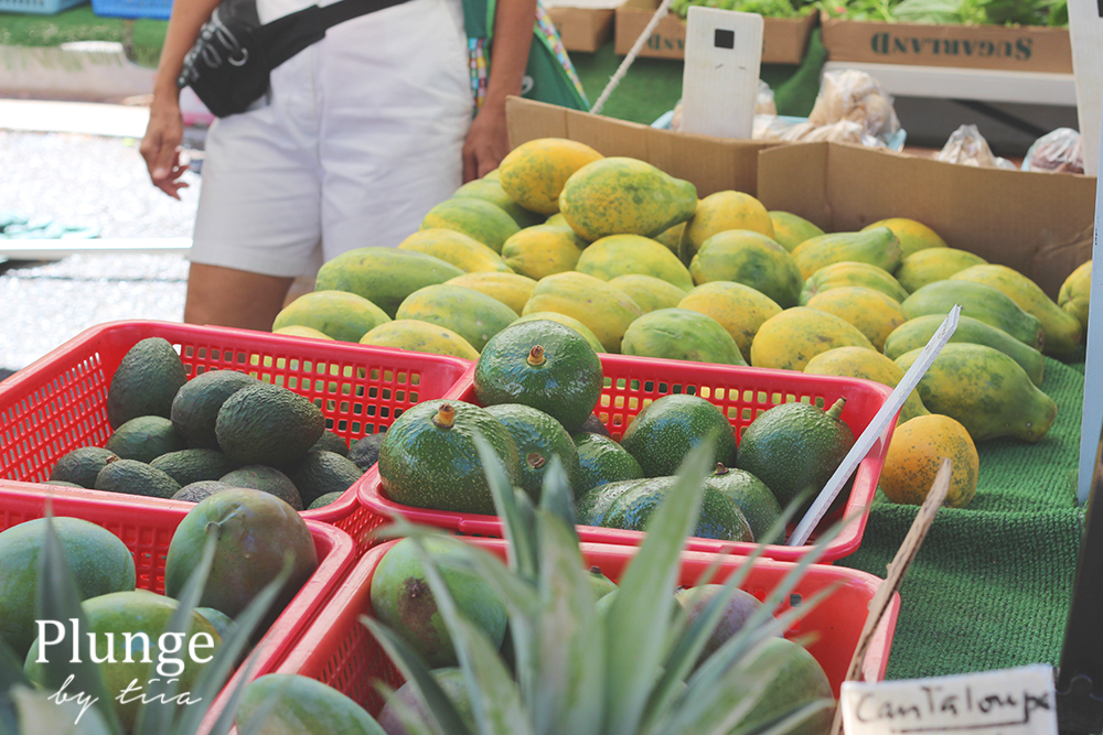 KCC Farmers market, Diamond head, Oahu