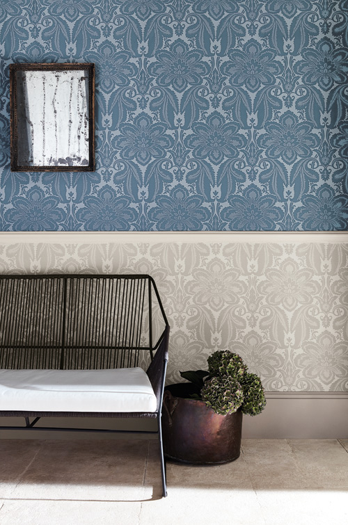 Wonenonline london wallpapers iv chique behang uit de archieven - Behang london ...