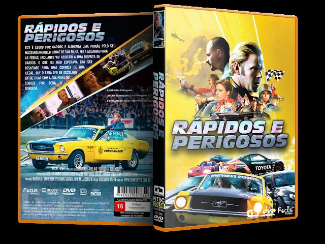 Capa DVD Rápidos E Perigosos (2014) [Exclusiva]