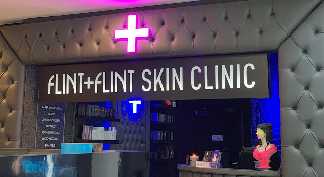 Image of the Frontage of Flint + Flint Salon in Harvey Nichols Manchester