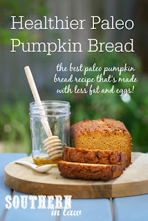 The Best Healthy Paleo Pumpkin Bread Recipe Low Fat