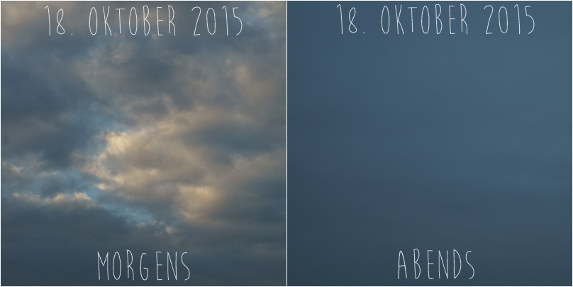Blog + Fotografie by it's me! - Himmel am 18.10.2015
