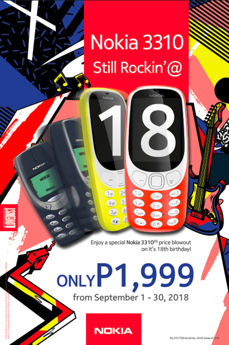 Sale Alert: Nokia celebrates 3310's 18th birthday with a promo