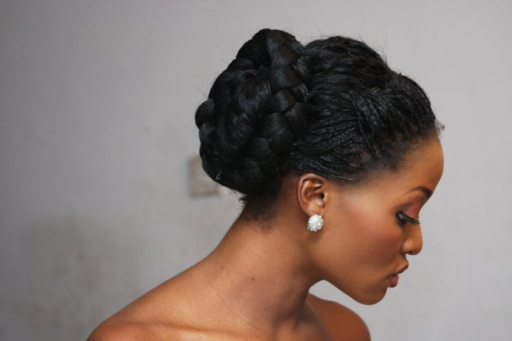 Wedding Hairstyles With Braids: Glambox:Beautiful Make~up Is Our Hallmark!: Bridal