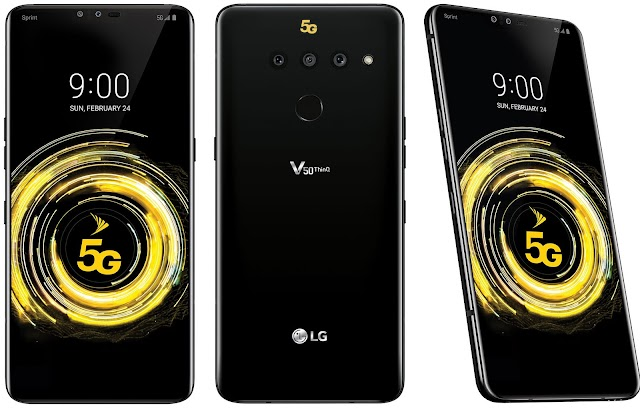 LG V50 ThinQ 5G with dual bootable display screen launched at MWC 2019