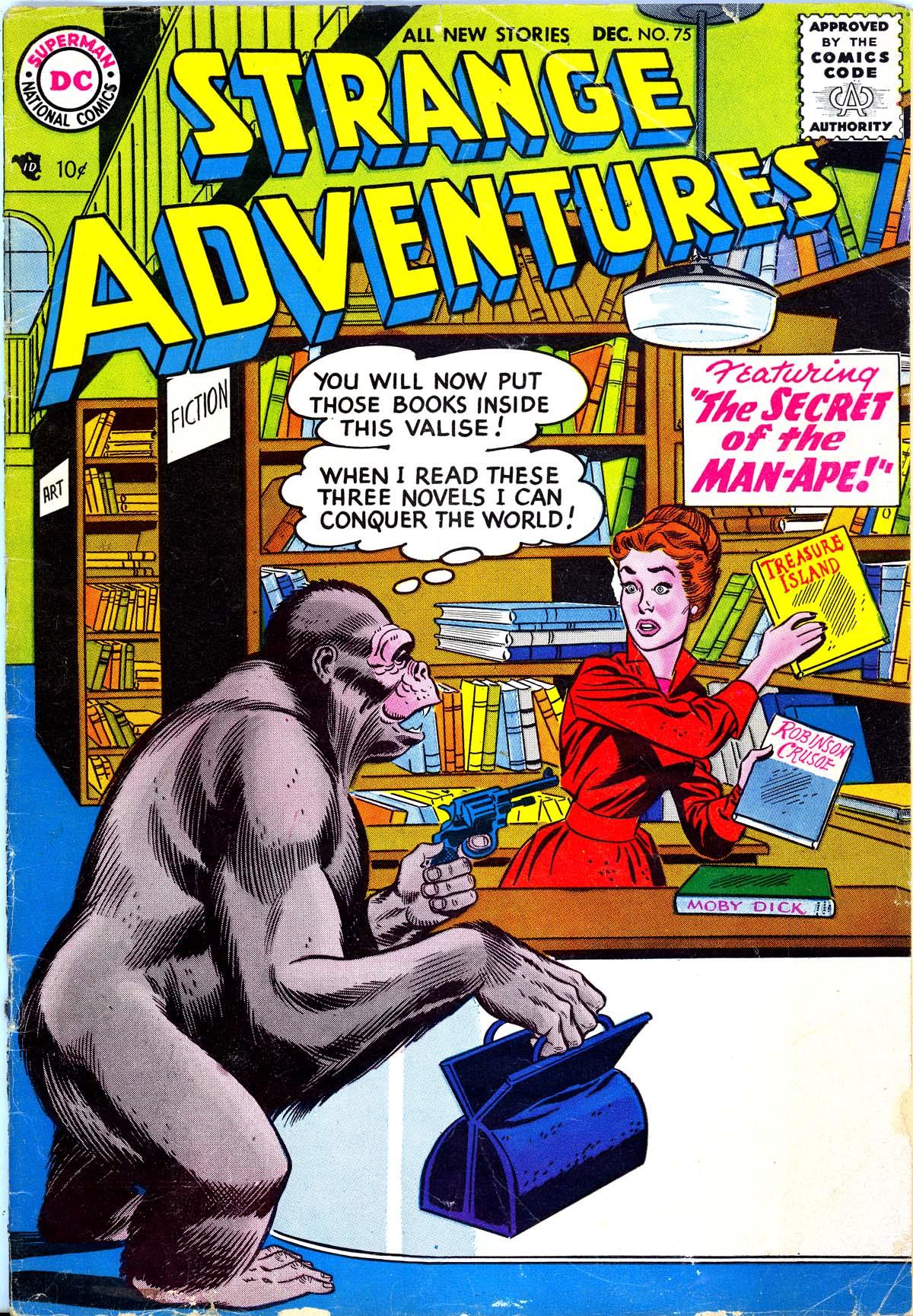 Strange Adventures (1950) 75 Page 1