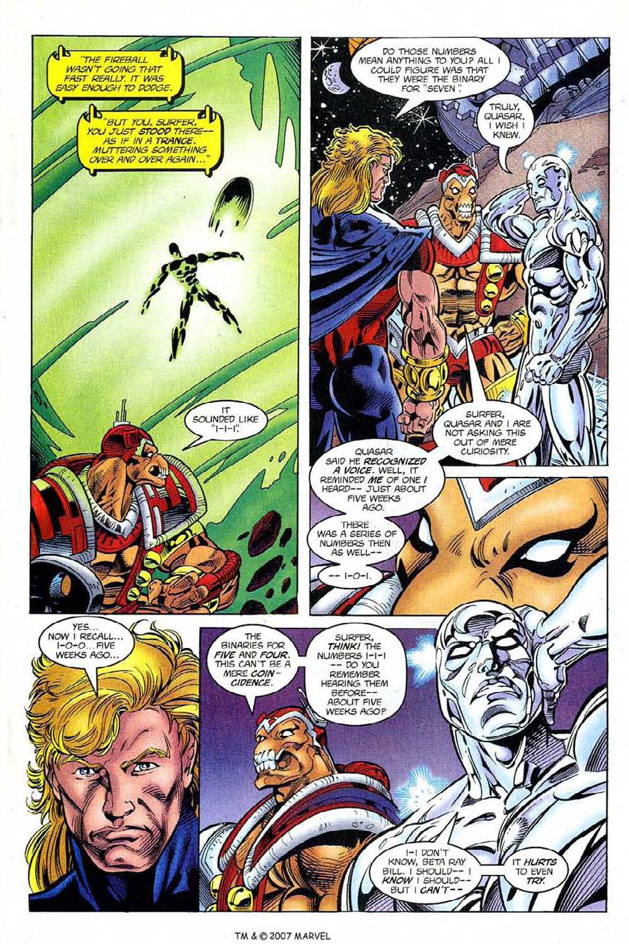Silver Surfer (1987) Issue #122 #130 - English 5