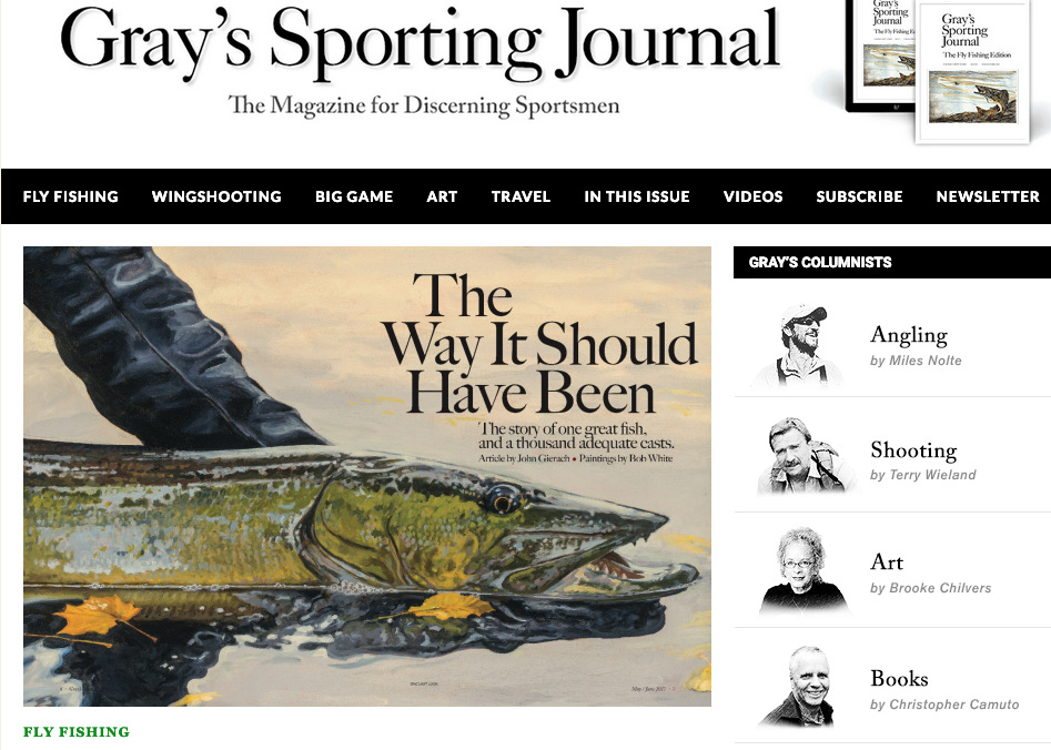 Grays Sporting Journal Art
