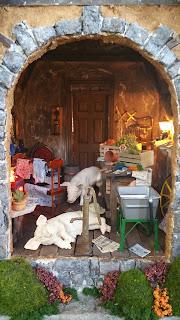 Greggs Miniature Imaginations Quot Penny Lane Quot English Cottage