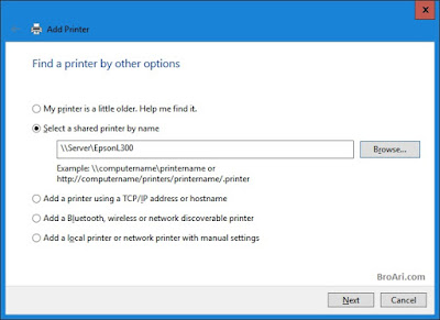 Cara Sharing Printer di Windows 10
