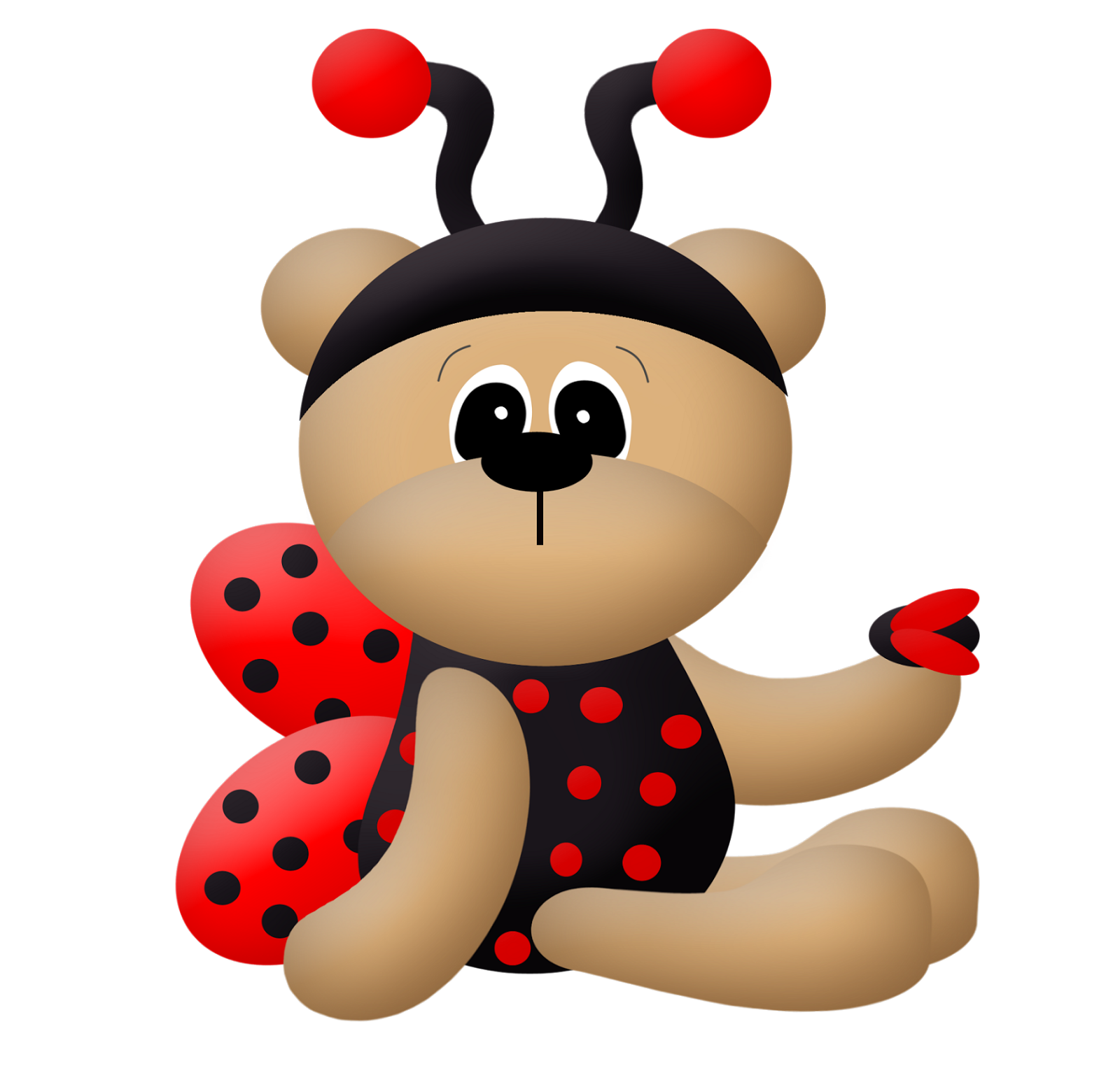 Ladybug Dress Bears Clip Art Oh My Baby