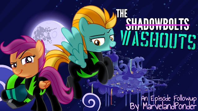 Equestria Daily Mlp Stuff Episode Followup The Washouts Scootaloo suggests she come with her to the washouts show happening in ponyville. equestria daily mlp stuff episode
