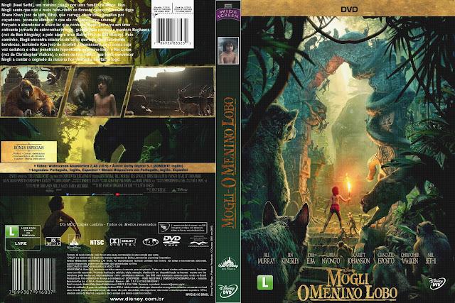 Capa DVD Mogli O Menino Lobo
