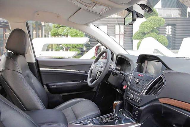 Lifan X80 Automático 2017 - interior