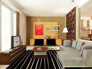 Dekorasi Ruang Keluarga Modern