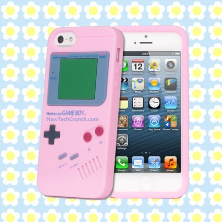 Gameboy pink iPhone 5 case for Girls
