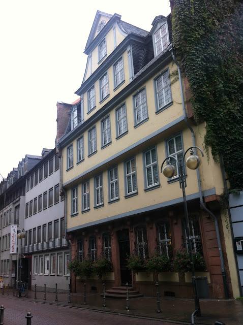 Goethehaus em Frankfurt