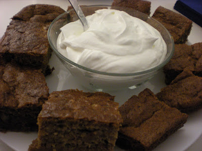 Persimmon Pudding Cake (adapted from Simply Recipes)