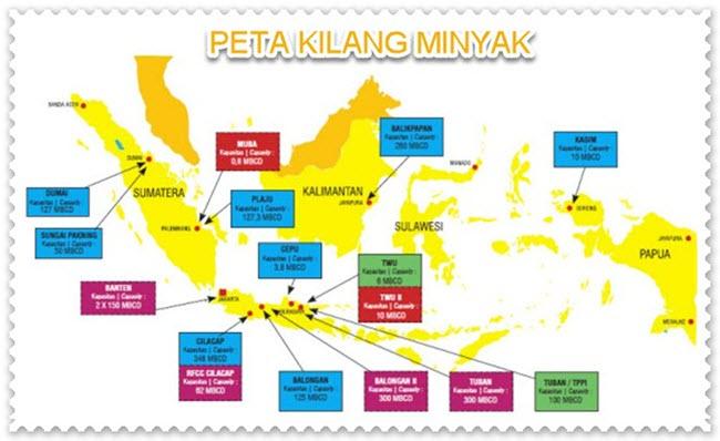Peta Kilang Minyak