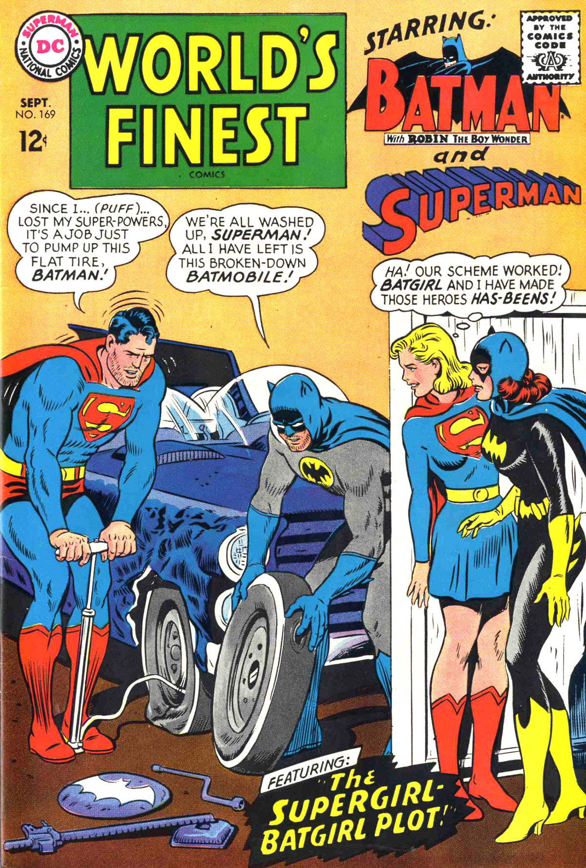 Read online World's Finest Comics comic -  Issue #169 - 1