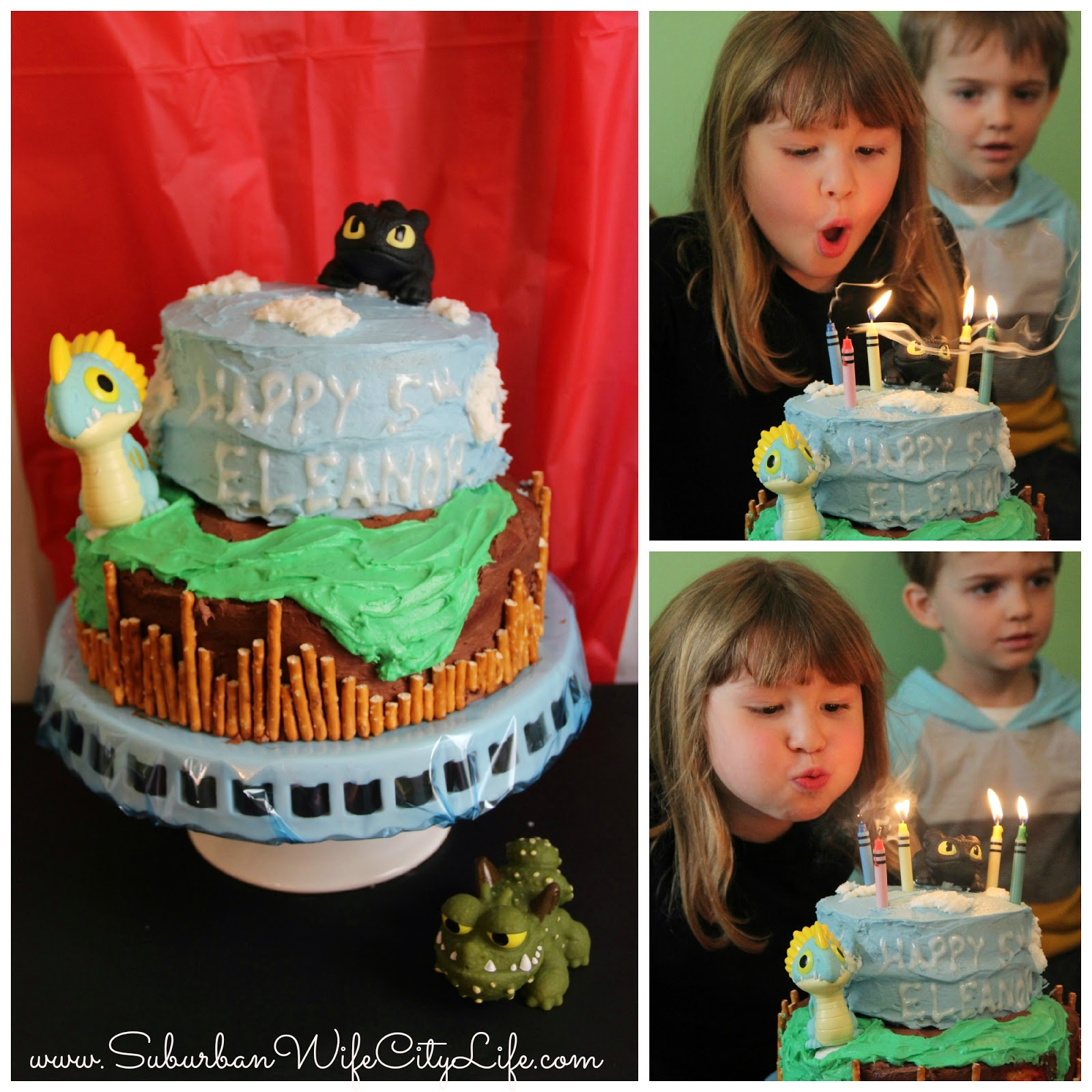 How to train your dragon birthday party suburban wife city life as for the cake i would have loved to make a toothless but didnt want to deal with black icing so we decided to make the island of berk and sky for ccuart Images