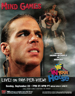 WWF / WWE IN YOUR HOUSE 10: Mind Games - Event Poster