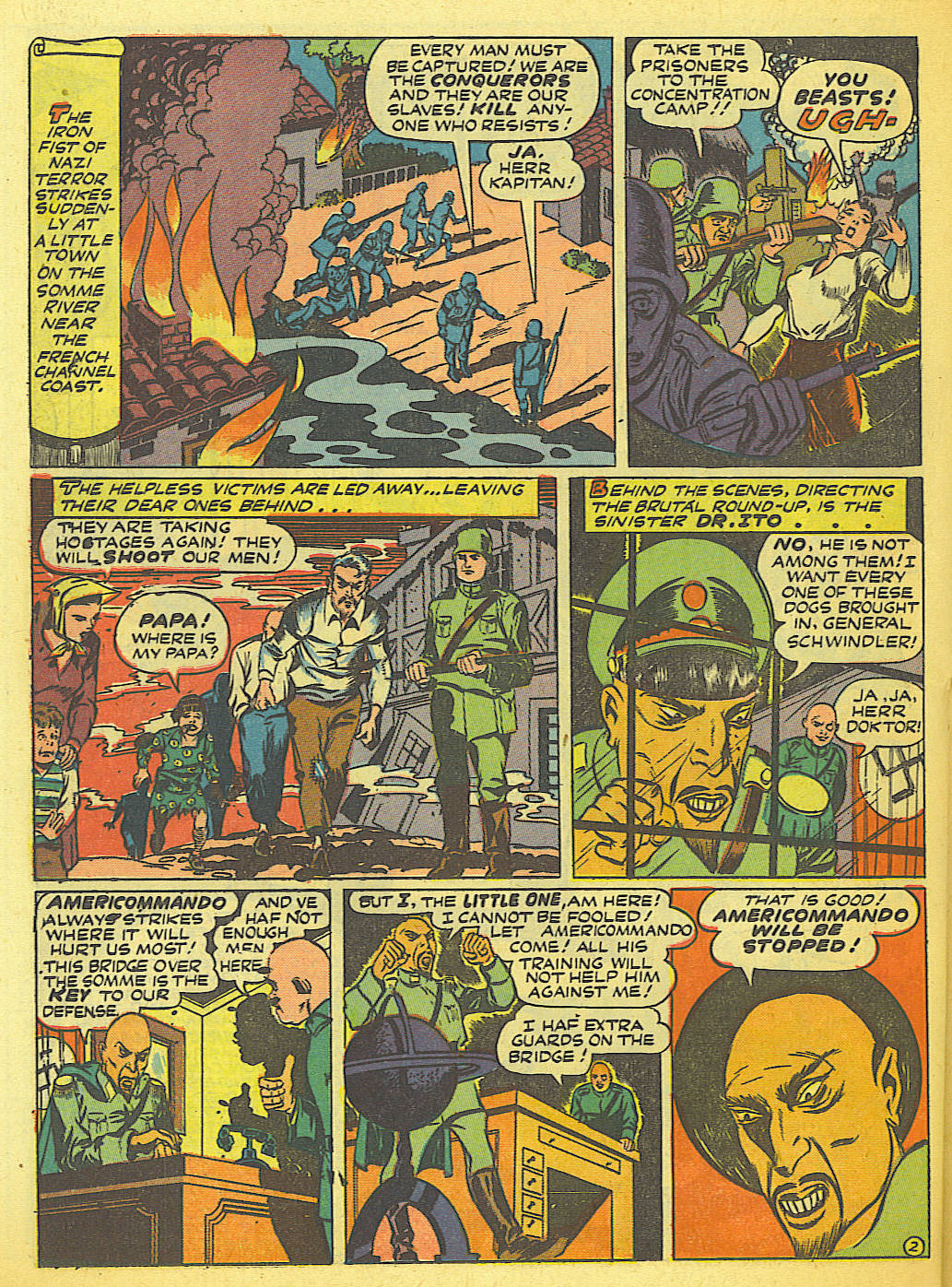 Read online Action Comics (1938) comic -  Issue #58 - 34