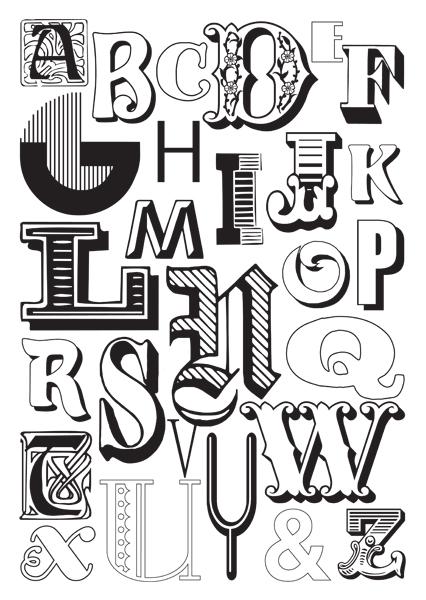 Apedario la meravigliosa bellezza della scrittura for Tipi di stile