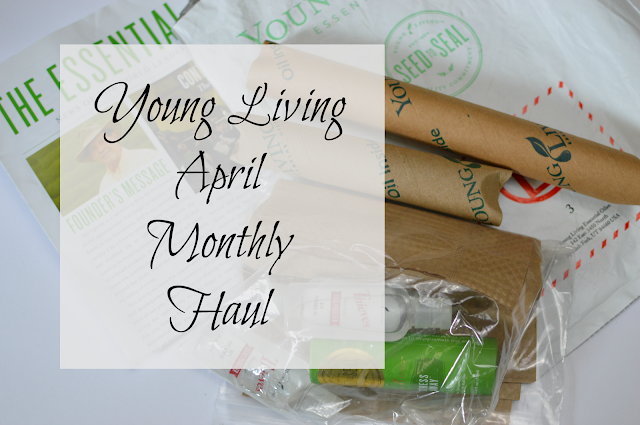 Young Living April Haul
