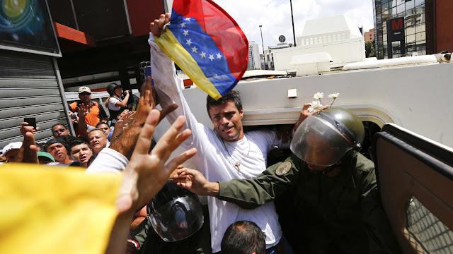 Leopoldo Lopez Political Prisoner