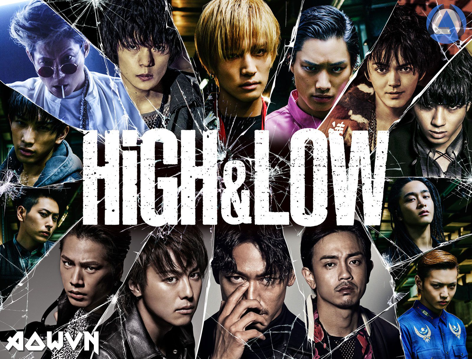 H%2526L - [ Phim 3gp Mp4 ] High&Low SS1 + SS2 + Movie | Vietsub - Max hay!!