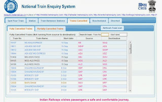 National Train Enquiry System