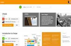 Swipe: excelente opción para crear presentaciones interactivas en línea
