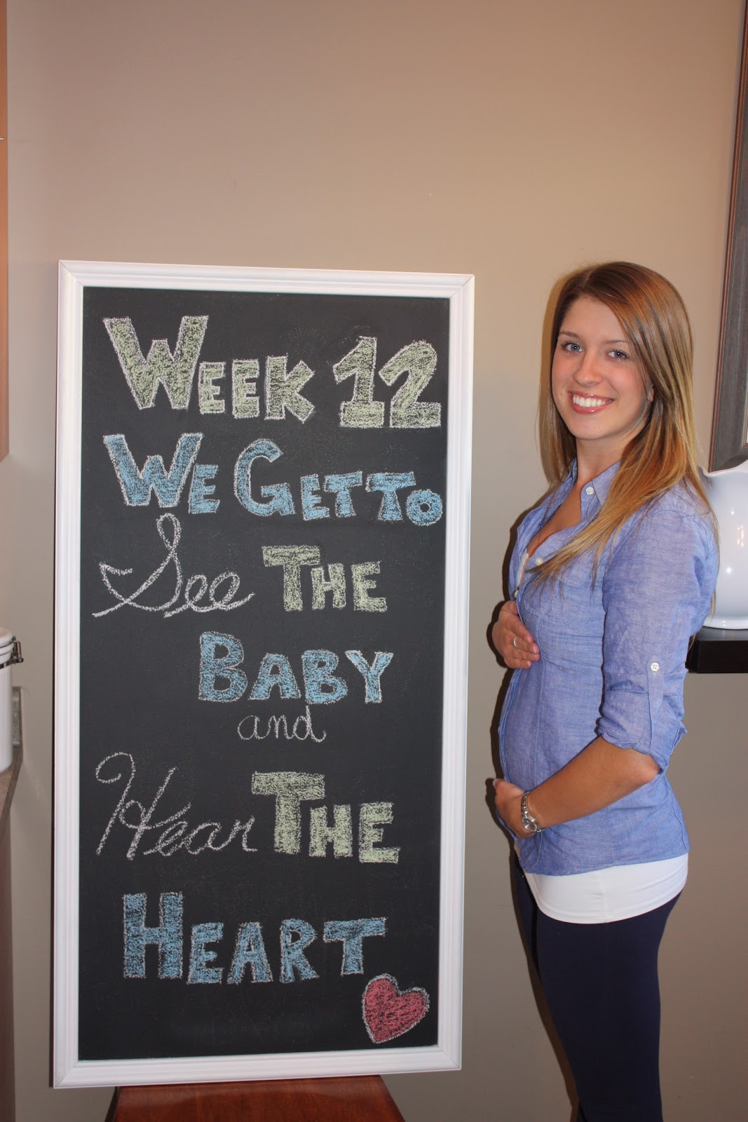 The Wonderful Wife: 12 Weeks Pregnant