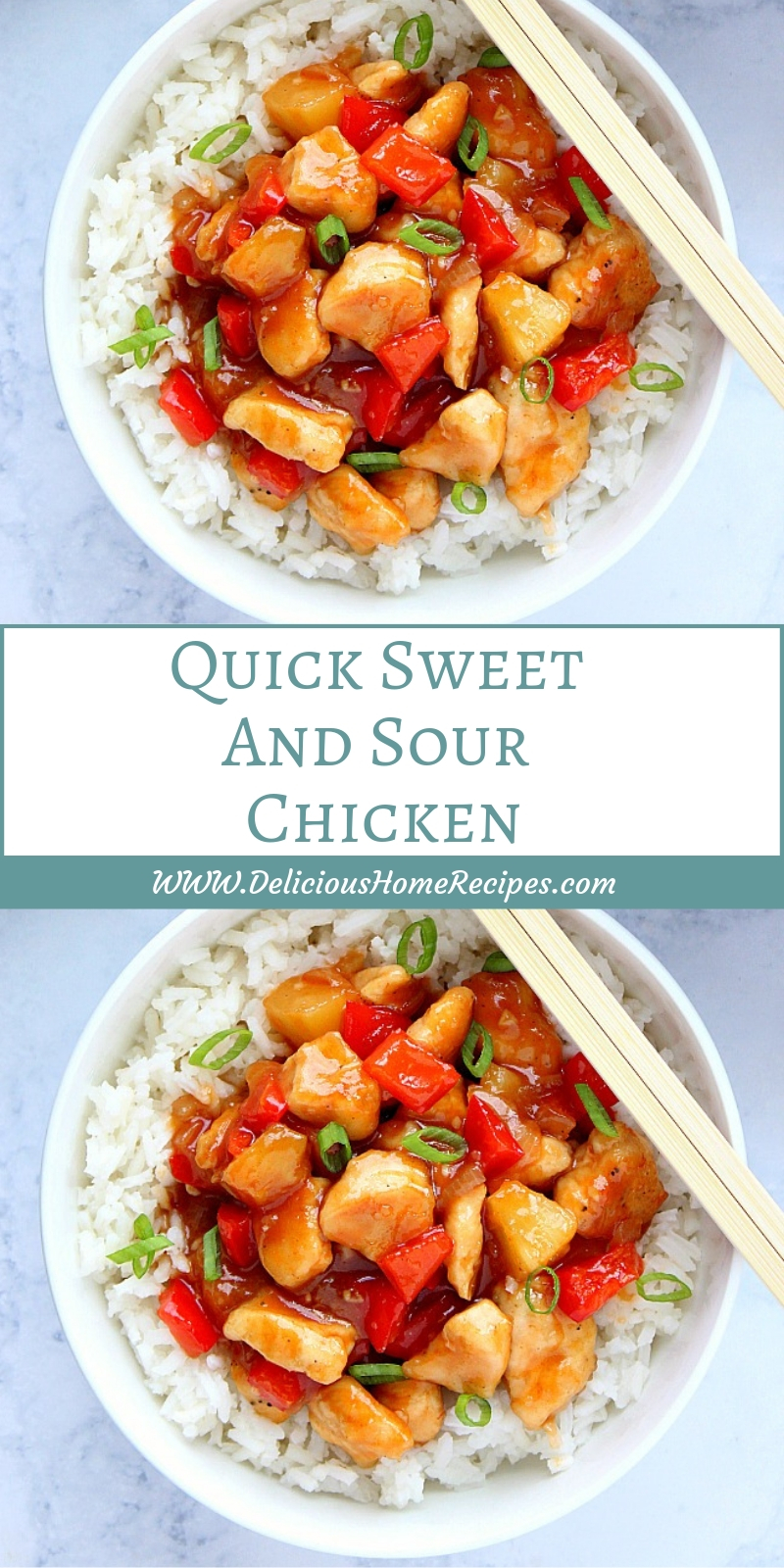 Quick Sweet And Sour Chicken