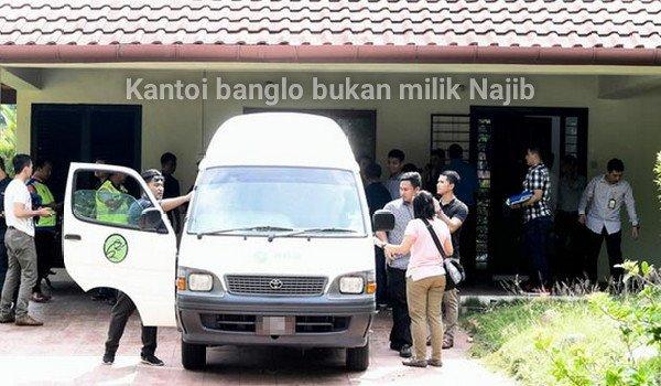 Kantoi banglo bukan milik Najib Razak