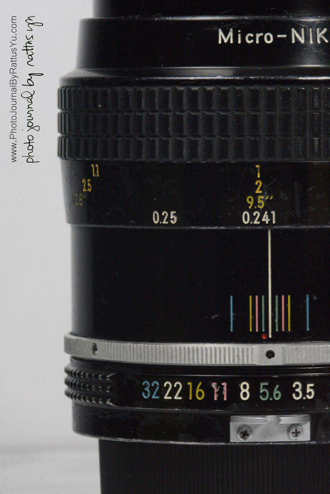 Micro-Nikkor 55mm f/3.5 (1977 Pre-AI Version)