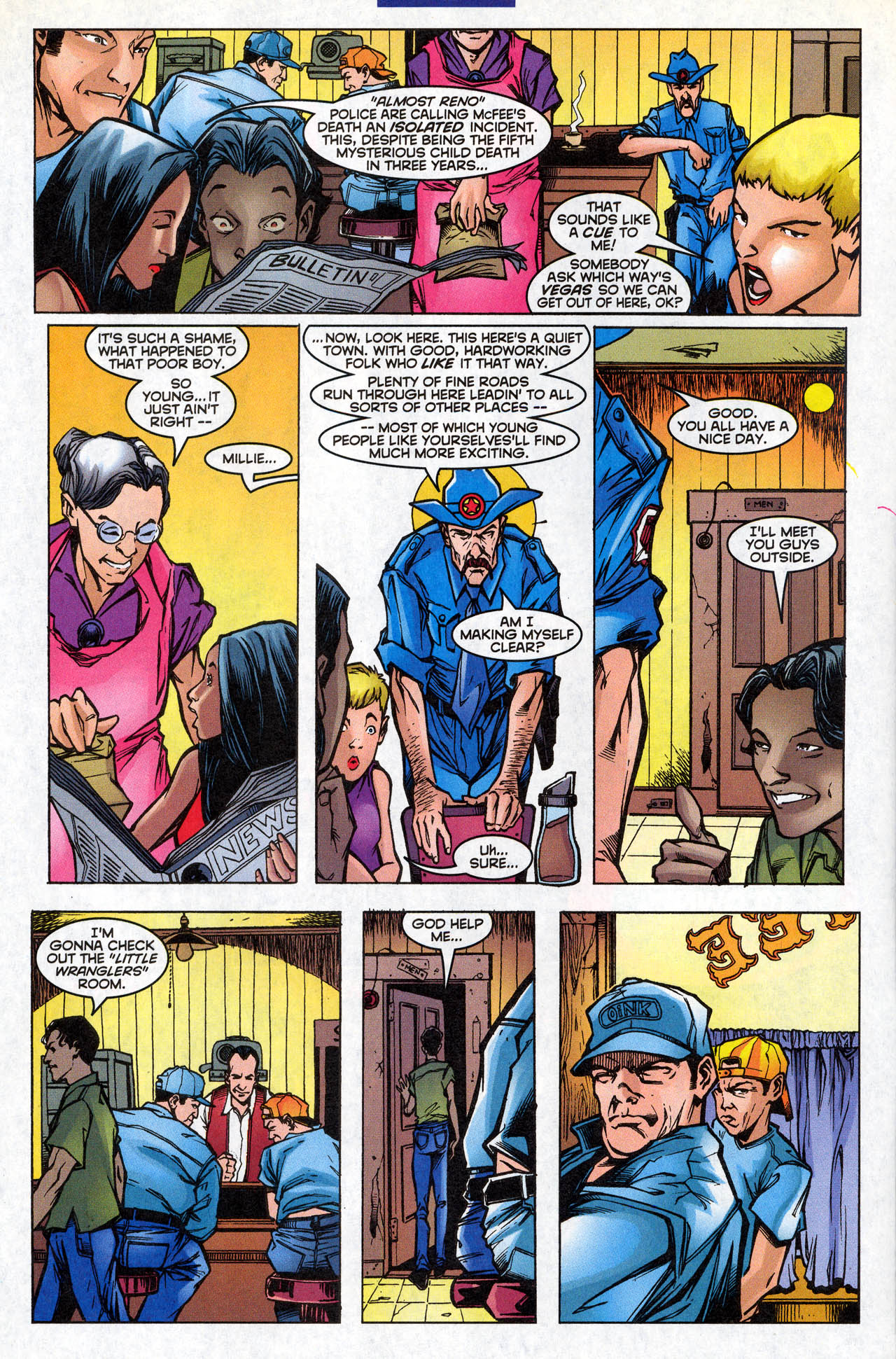 Read online X-Force (1991) comic -  Issue #77 - 9