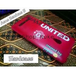 Hard case handphone Asus Zenfone 5 manchester united football atau sepakbola