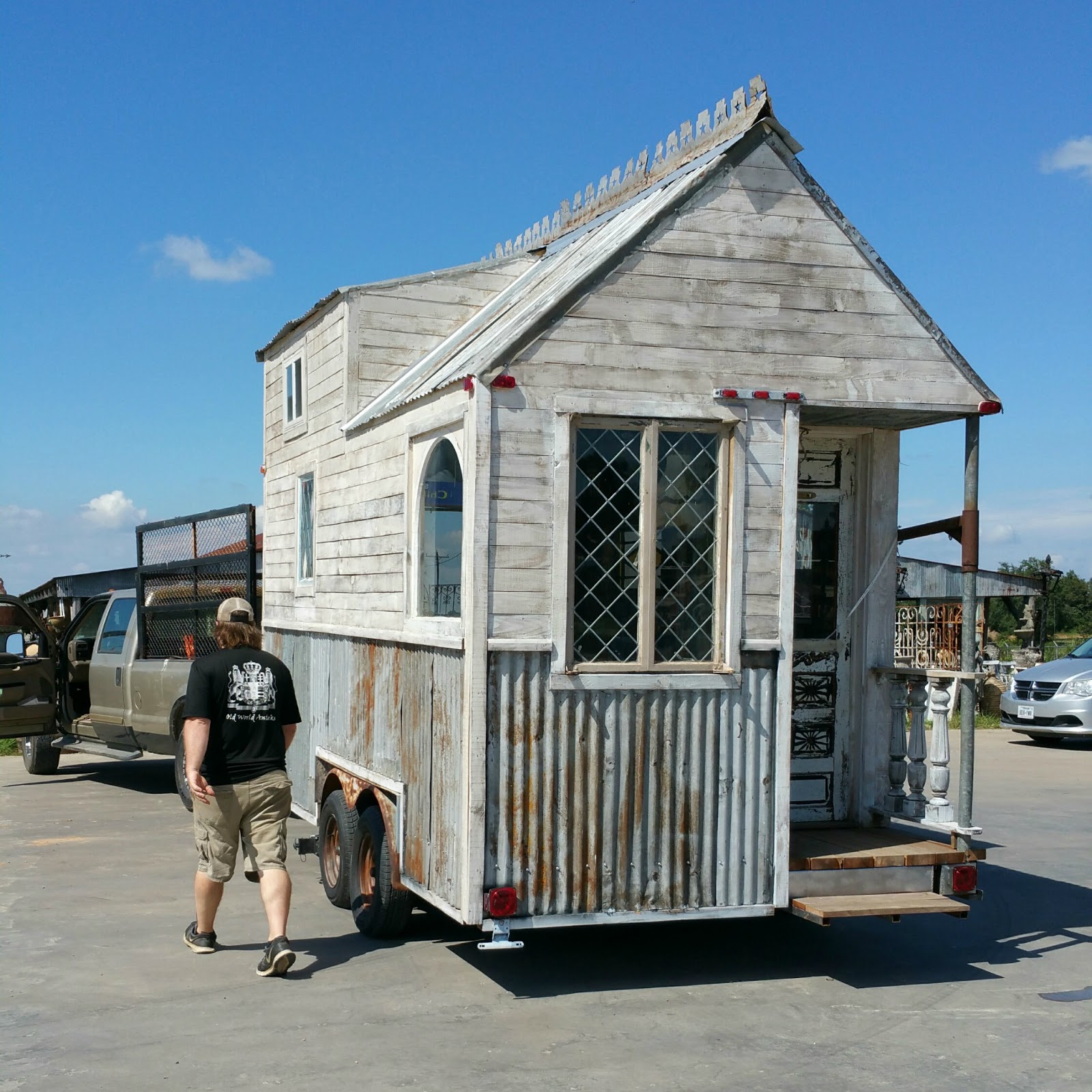 Rustic Reclaimed Tiny House TINY HOUSE TOWN