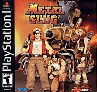 Metal Slug X Ps1