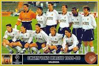 VALENCIA C. F. - Valencia, España - Temporada 1999-2000 - Palop, Claudio López, Pellegrino, Björklund, Angloma, Carboni; Albelda, Kily González, Gerard, Mendieta y Juan Sánchez - BAYERN MUNICH 1 (Elber), VALENCIA C. F. 1 (Gerard) - 28/09/1999 - Liga de Campeones de la UEFA, fase de grupos - Munich, Alemania, estadio Olímpico