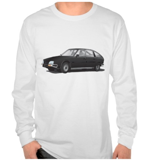 Citroën CX shirts