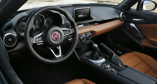 2017 Fiat 124 Spider Manual Review