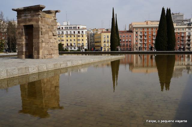 templo de debod madrid espanha