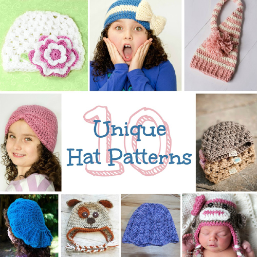 Free Unique Hat Crochet Patterns