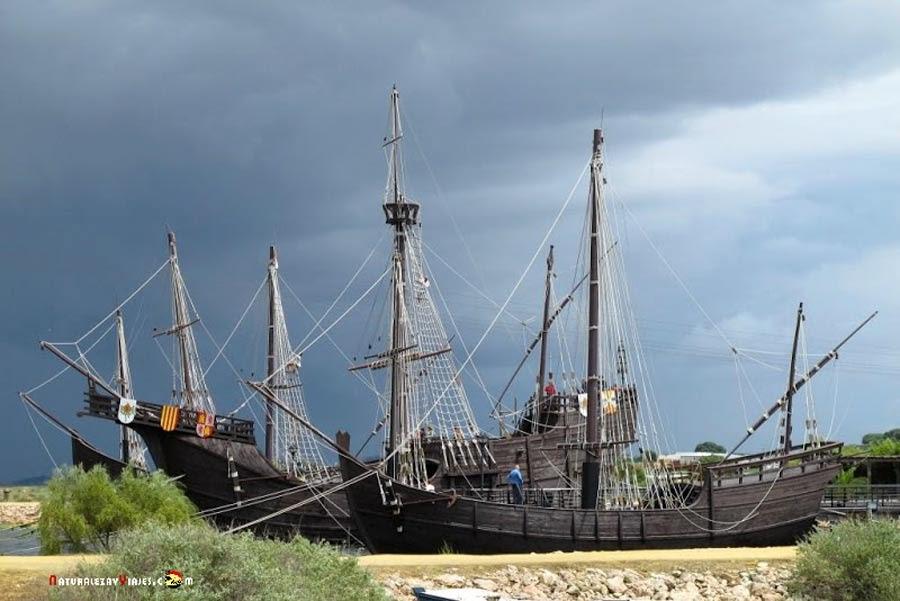 Muelle de las Carabelas, Huelva